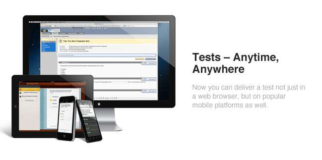 Provided by Mobile Compatible Tests on Blackboard Learn